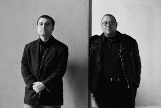 Rafael Metlikovez y Xavier Theros