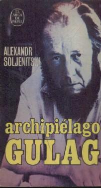 La portada del primer tomo de la monumental Archipiélago Gulag