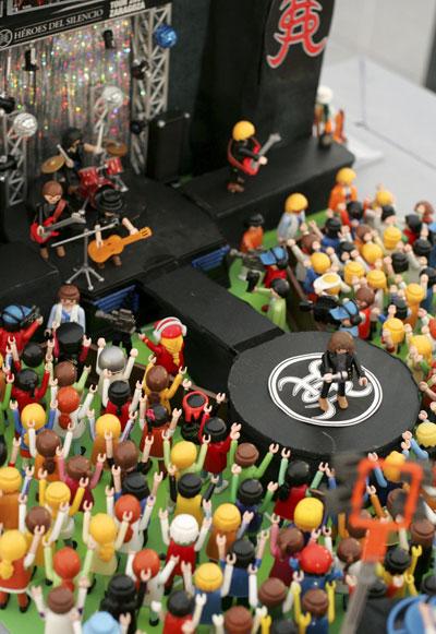 Heroes del Silencio en Playmobil