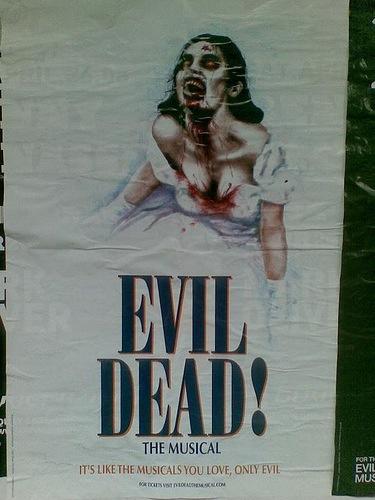 mamma mia vs evil dead