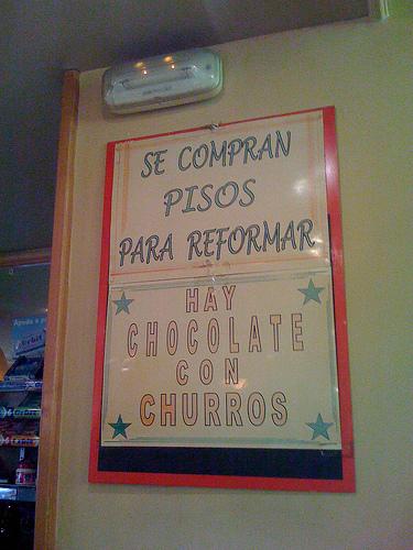 como ya no reformo, ahora chocolateo