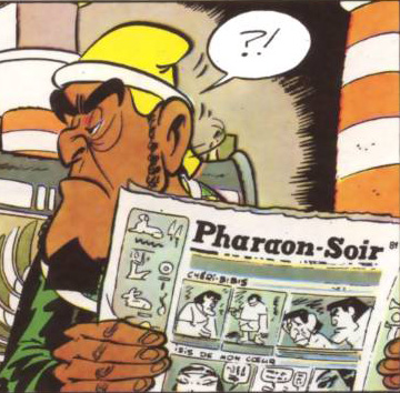asterix y cleopatra (detalle)
