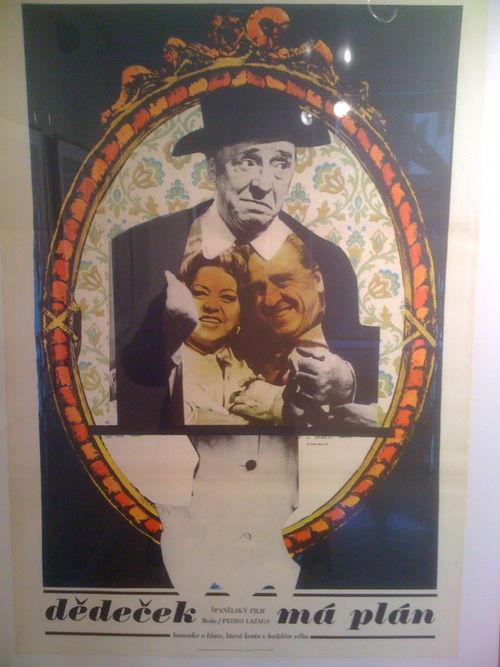 Cartel polaco de El abuelo tiene un plan, de Paco Martinez Soria
