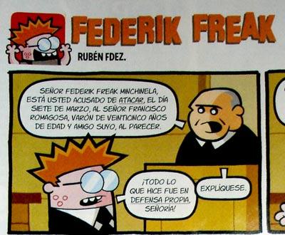 Frederik Freak y su segundo apellido