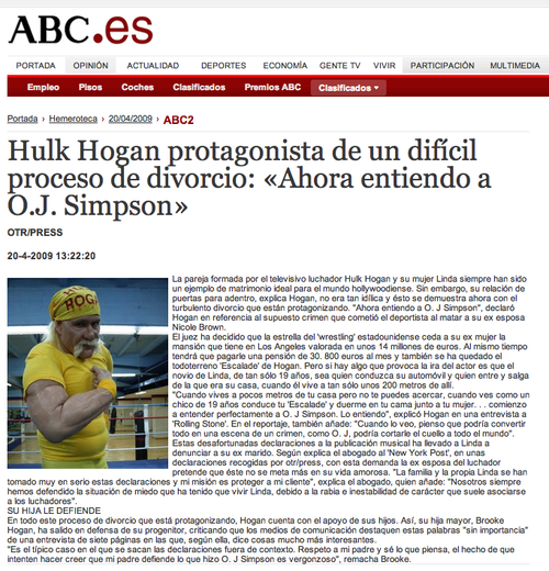 Hulk Hogan en ABC