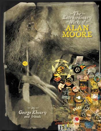 La portada del libro, de Dave McKean