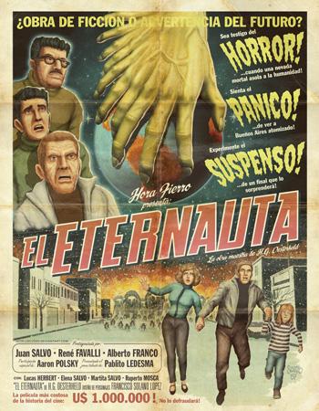 Cartel de El Eternauta