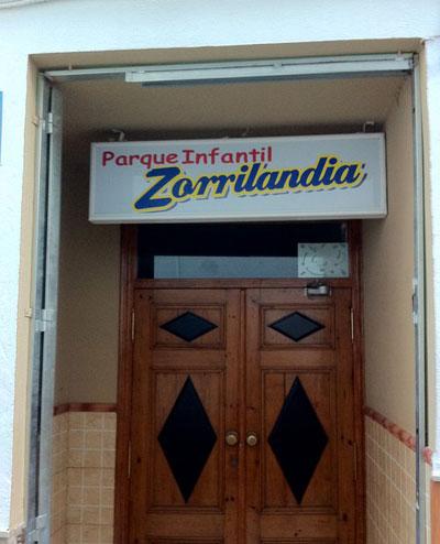 Parque infantil Zorrilandia