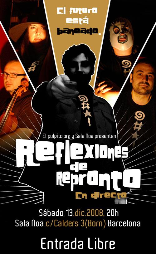 Repronto live at Sala Noa BCN