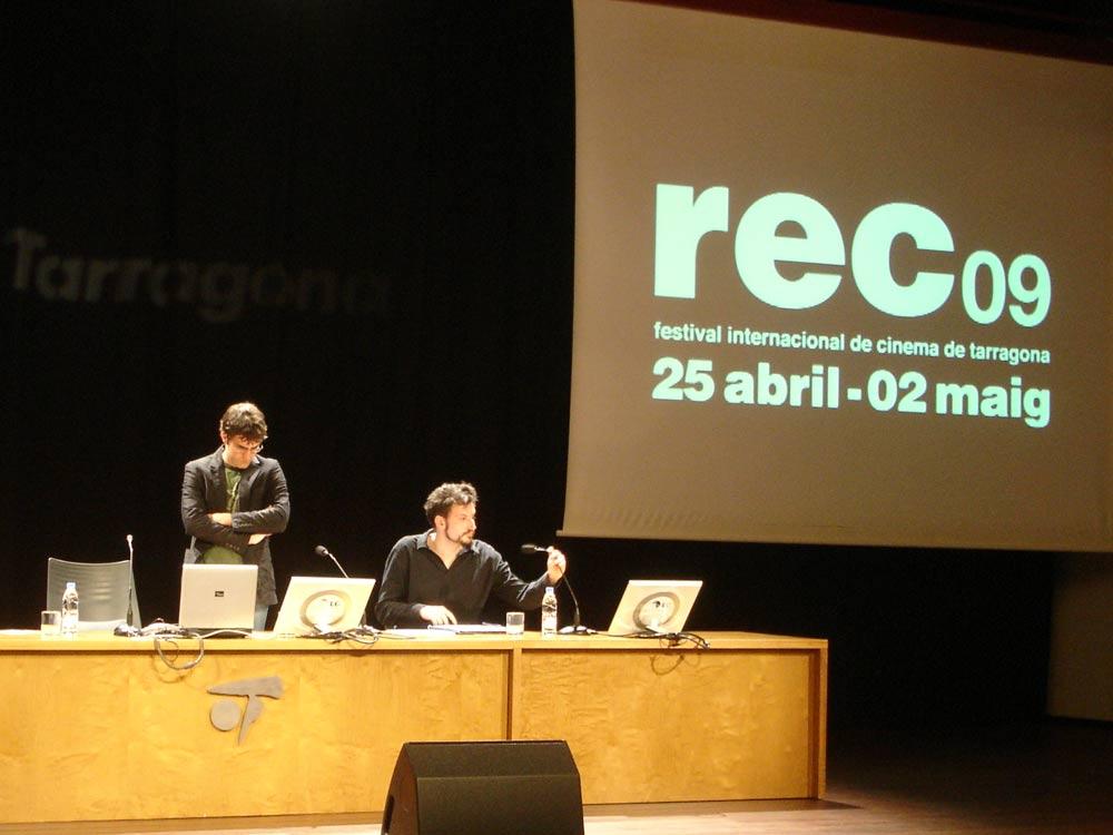 Seminario del Festival internacional de cine de Tarragona