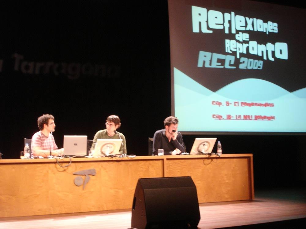 Seminario del Festival internacional de cine de TarragonaSeminario del Festival internacional de cine de Tarragona