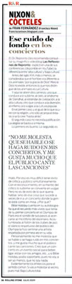 Fran Nixon en Rolling Stone